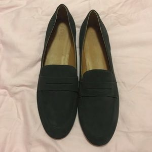 JCREW FACTORY CHARCOAL LOAFERS SIZE 12 NWT
